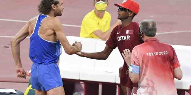 Atletas de Italia y Catar renunciaron al desempate para compartir la medalla de oro