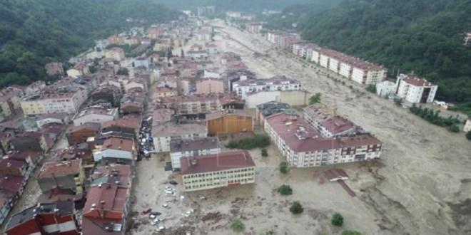 Al menos seis muertos dejan inundaciones en el norte de Turquía
