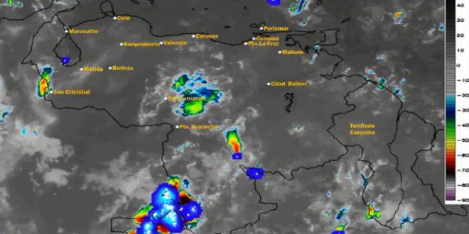 Onda tropical número 40 se desplaza del oriente al centro del país