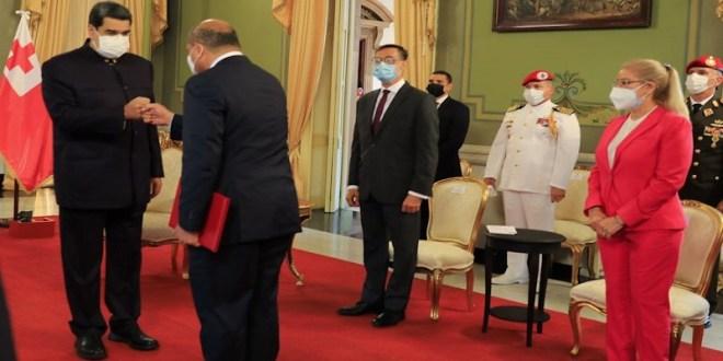 Presidente Maduro recibe Cartas Credenciales de nuevos embajadores de Tonga y Tailandia en Venezuela
