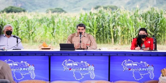 Presidente Maduro: 2021 es año del arranque de crecimiento económico real pese a persecución imperial