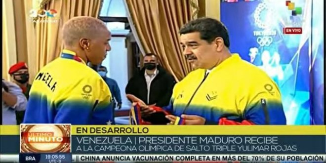Presidente Nicolás Maduro encomienda a Yulimar Rojas apoyar el plan para las próximos JJOO