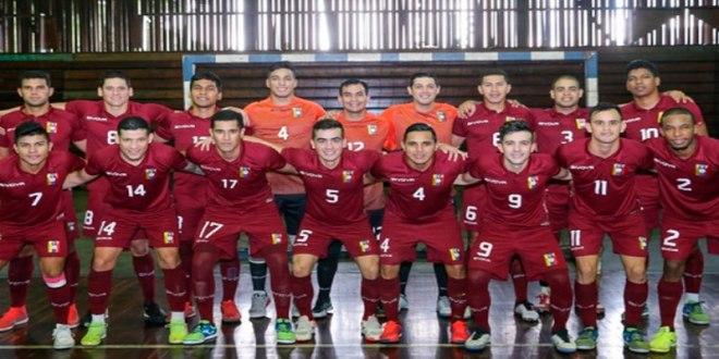 La Vinotinto de FUTSAL se enfrenta a Lituania este domingo en el inicio del mundial de Fútbol Sala