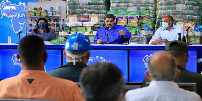 Presidente Maduro: Una economía equilibrada y sana solo es posible con un proceso de producción y crecimiento nacional sustentado