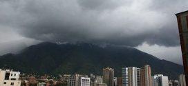 Inameh prevé este viernes nubosidad con precipitaciones de intensidad variable, con eventuales ráfagas de viento en gran parte del país