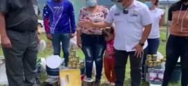 EN CUBIRO ESTADO LARA / Entregan materiales para rehabilitación de escuela e iglesia en sector Las Cuibas municipio Jiménez