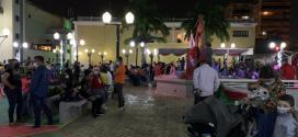 Plaza El Encuentro, Jacinto Lara y Pedro León Torres gozan de ambiente decembrino