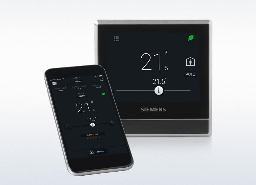 termostato autodidacta Siemens