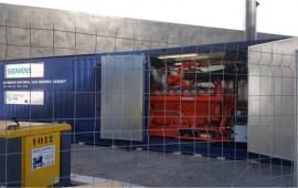 motor a gas Siemens