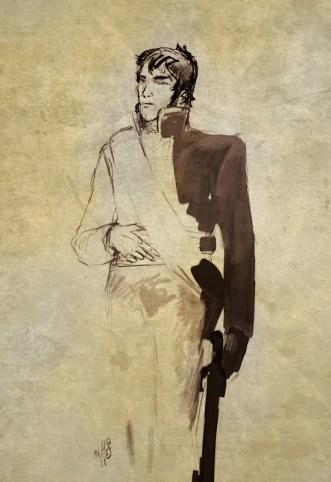Boceto del General Lefèbvre