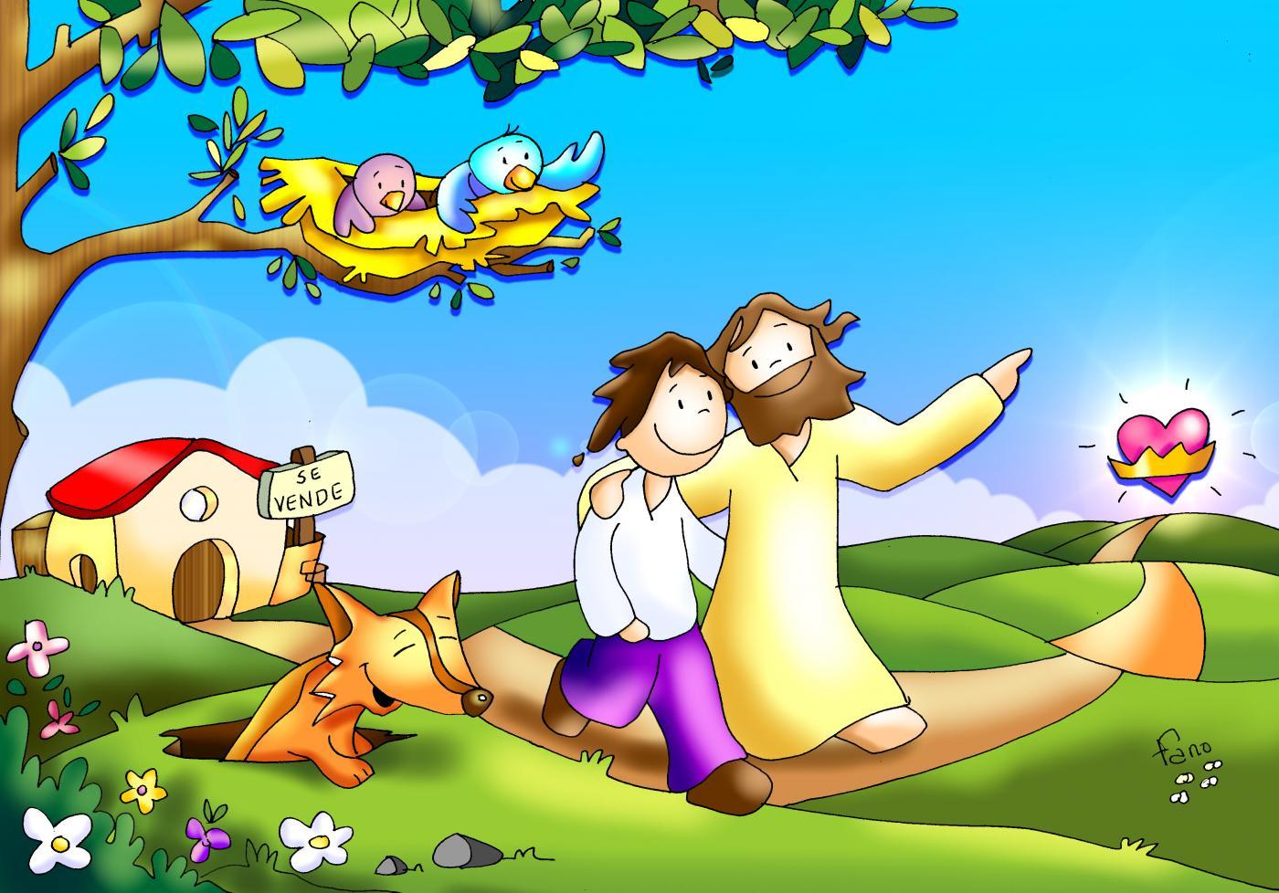 Las zorras tienen madriguera, y los pájaros nido, pero el Hijo del hombre no tiene donde reclinar la cabeza.