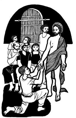 Evangelio según san Juan (20,19-31), del domingo, 12 de abril de 2015
