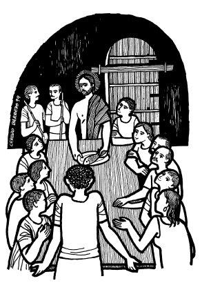Evangelio según san Lucas (24,35-48), del domingo, 15 de abril de 2018