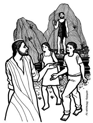 Evangelio según san Juan (1,35-42), del domingo, 18 de enero de 2015