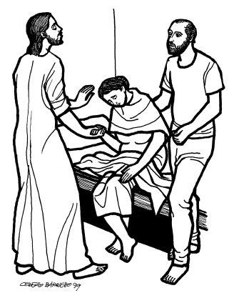 Evangelio según san Marcos (1,29-39), del domingo, 8 de febrero de 2015
