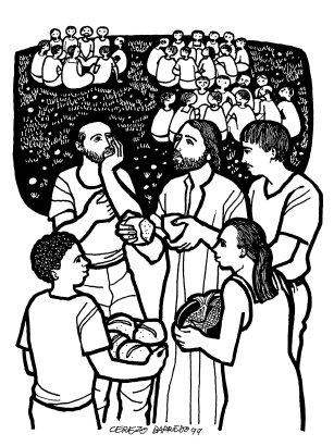Evangelio según san Juan (6,1-15), del domingo, 26 de julio de 2015