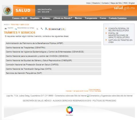 Salud 2012