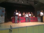 Entrega 1º premio grupo ESO