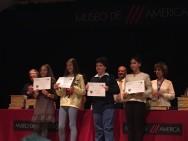 Entrega premio grupo finalista E.Primaria