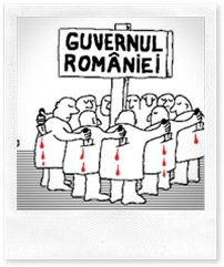 Guvernul Romaniei - caricatura realizata de www.vidu.ro