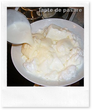 lapte de pasare