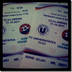 bilete U Cluj