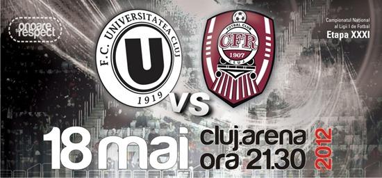 U Cluj vs CFR 1907