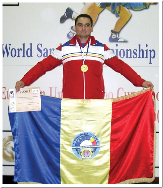 Adrian Petre - campion mondial Sambo