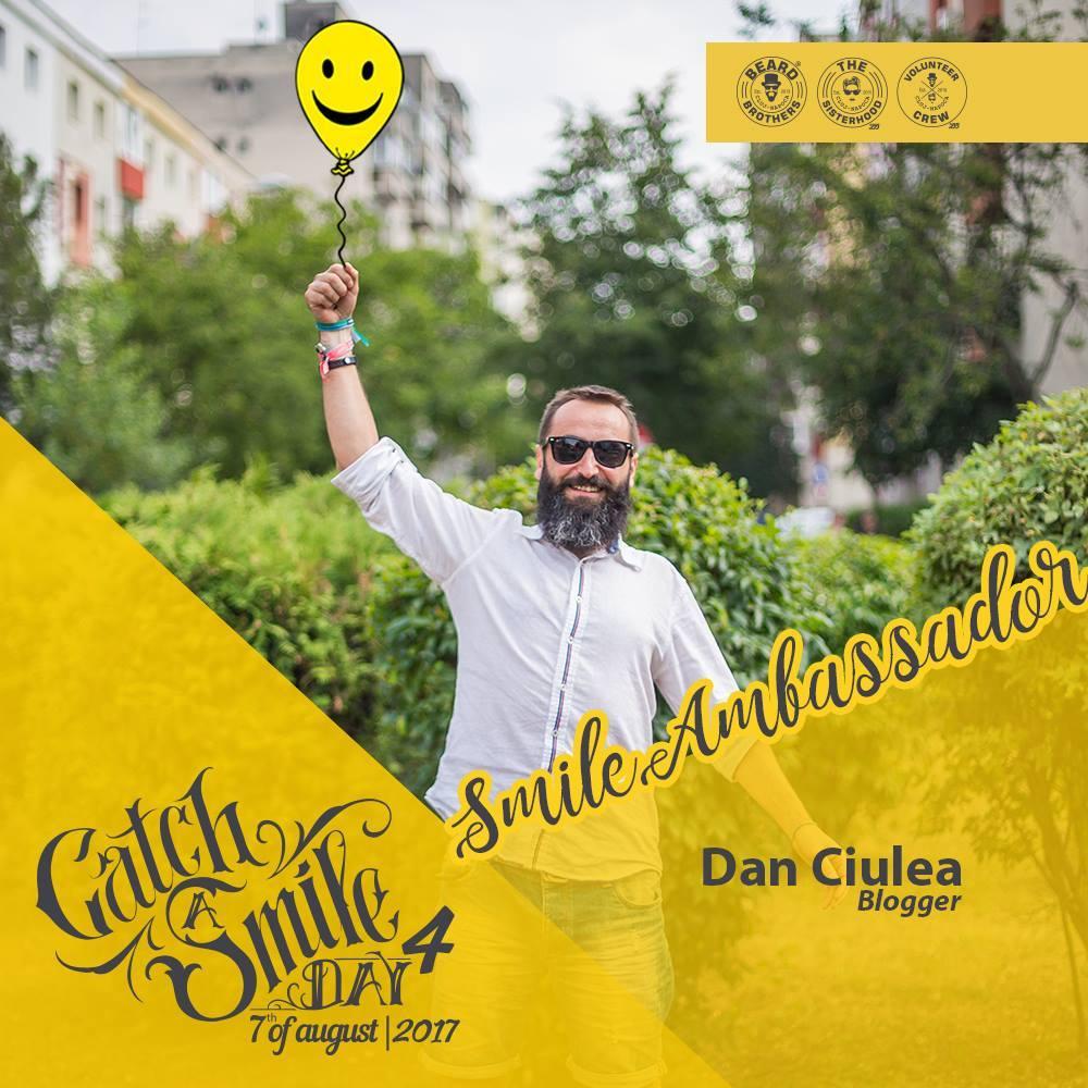 Dan Ciulea - Smile ambasador