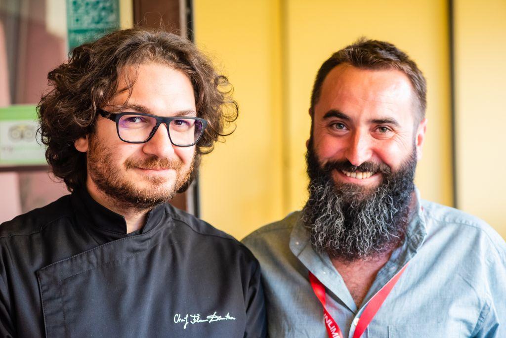 Chef Florin Dumitrescu și Dan Ciulea