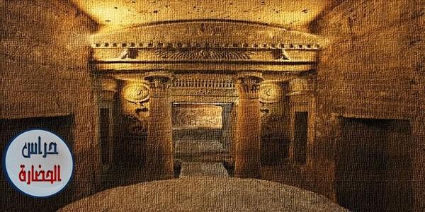 العمارة الجنائزية فى حضارة مصر الفرعونية