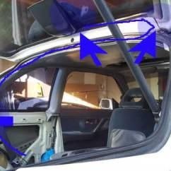 1995 Acura Integra Alarm Wiring Diagram Jeep Jk Sub Stealth Car Install 2nd Generation Da Route The Antenna