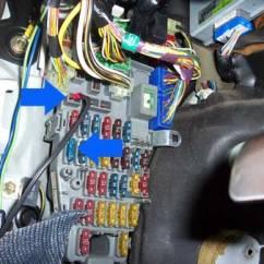 1995 Acura Integra Alarm Wiring Diagram 6 Way Trailer Connector Stealth Car Install 2nd Generation Da Constant 12v At The Fusebox