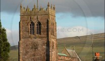 Kirkby Stephen church clock