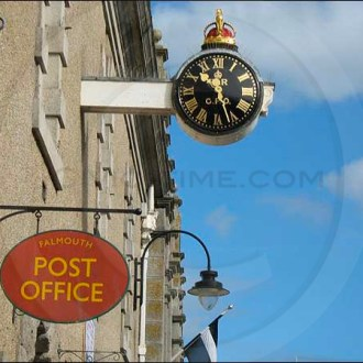Falmouth GPO clock