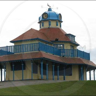 Pavilion on The Mount in Fleetwood, Lancashire.
