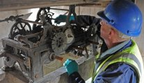 Lowther Castle clock restoration