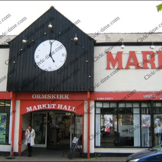 Ormskirk market hall clock