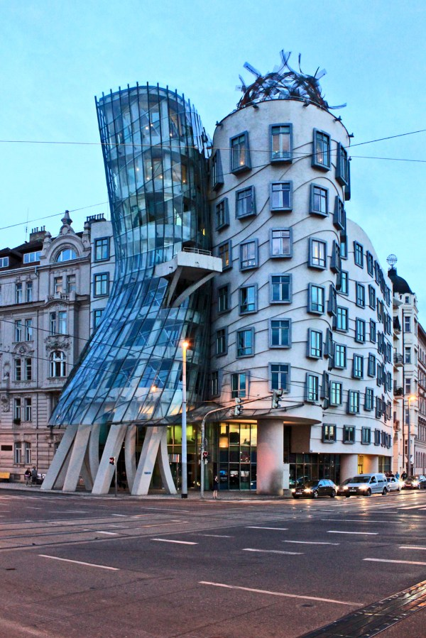 Dancing House; Prague Czech Republic Civic Arts Project