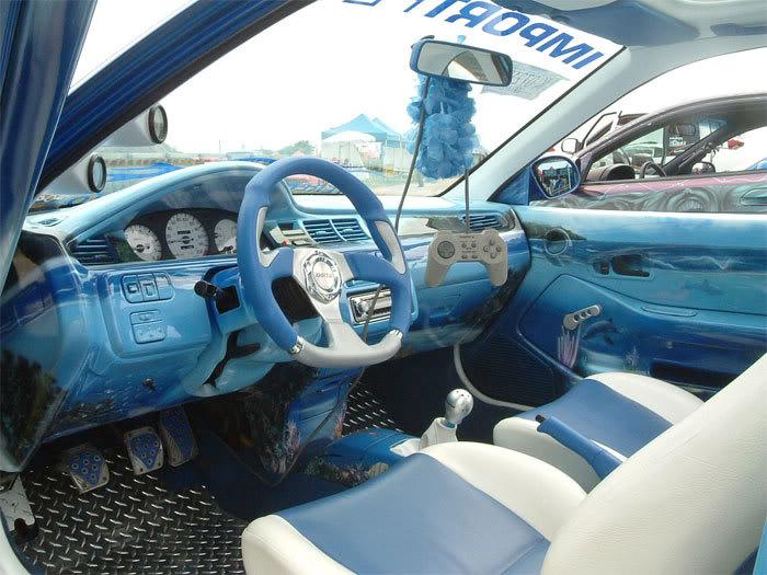 95 honda civic coupe interior