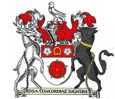 Arms of Northamptonshire County Council, England