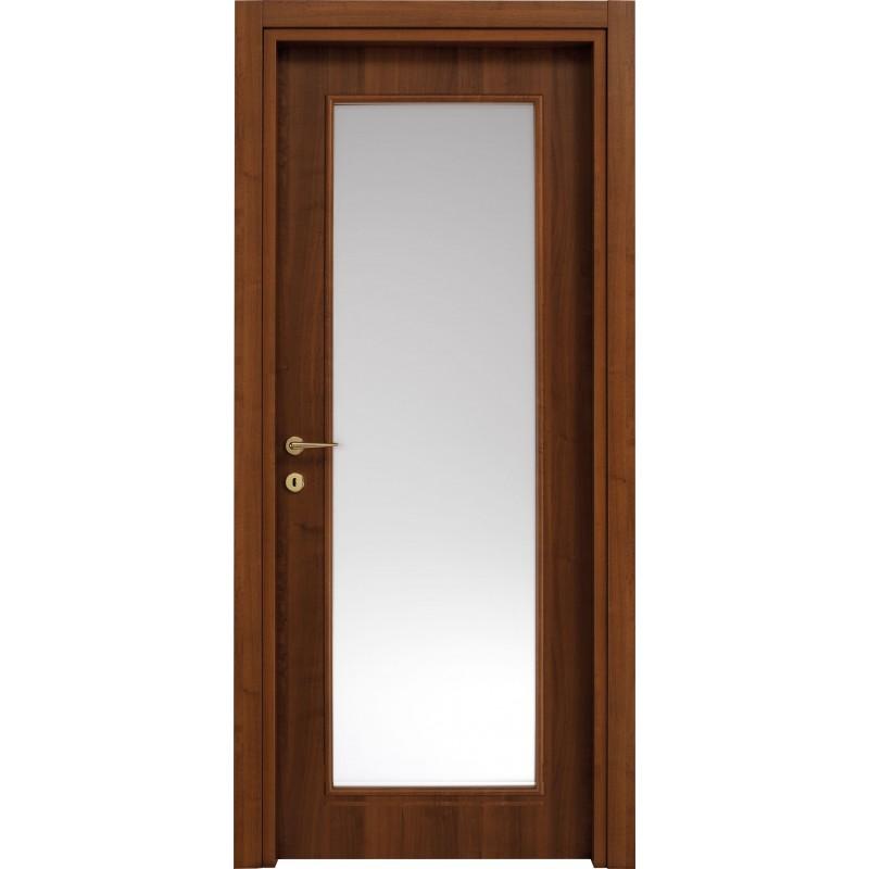 Porte interne Billy 610F in laminato pred vetro  Civico14  Porte interne e sicurezza casa