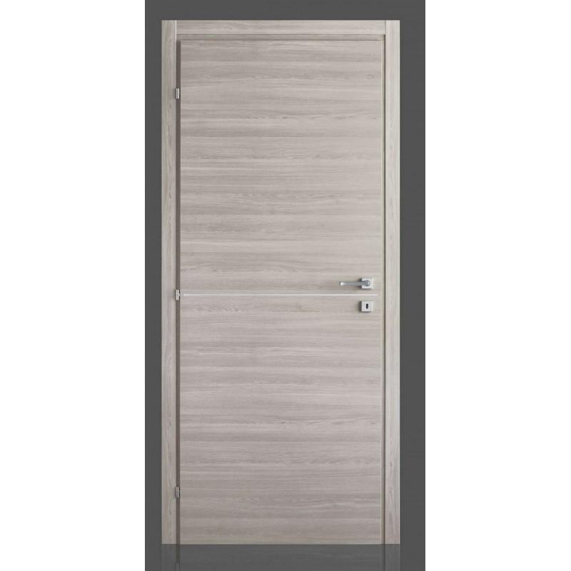 Porte interne in laminato con inserto in alluminio Simply FU  Civico14  Porte interne e