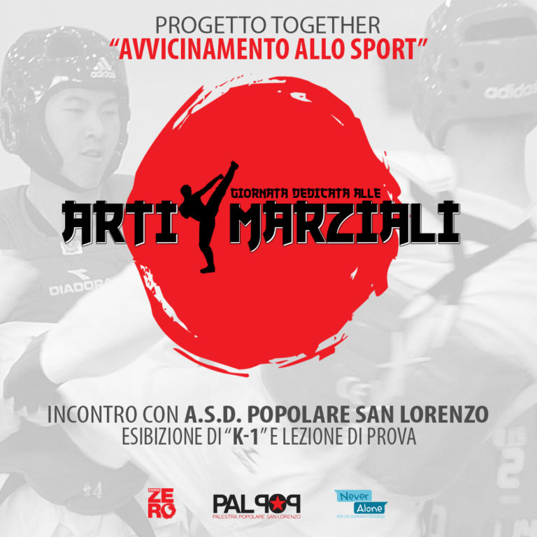 Progetto Together_Never Alone_Arti Marziali