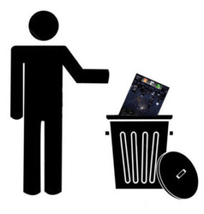 trash-can-and-stick-man