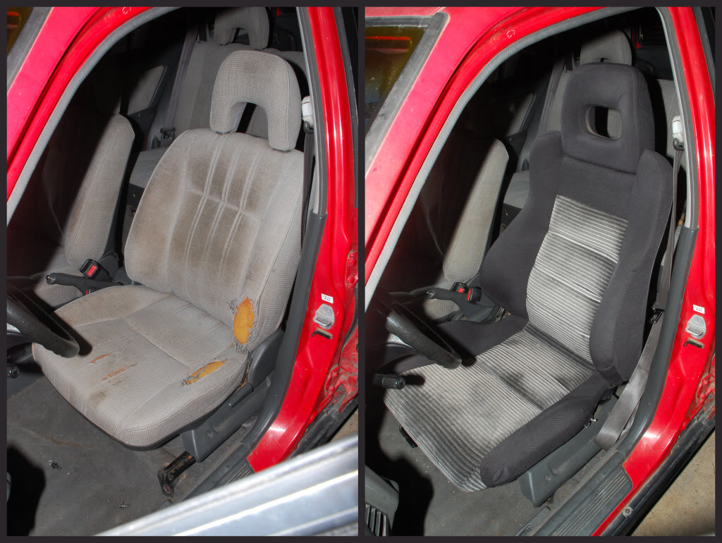hight resolution of crx seat