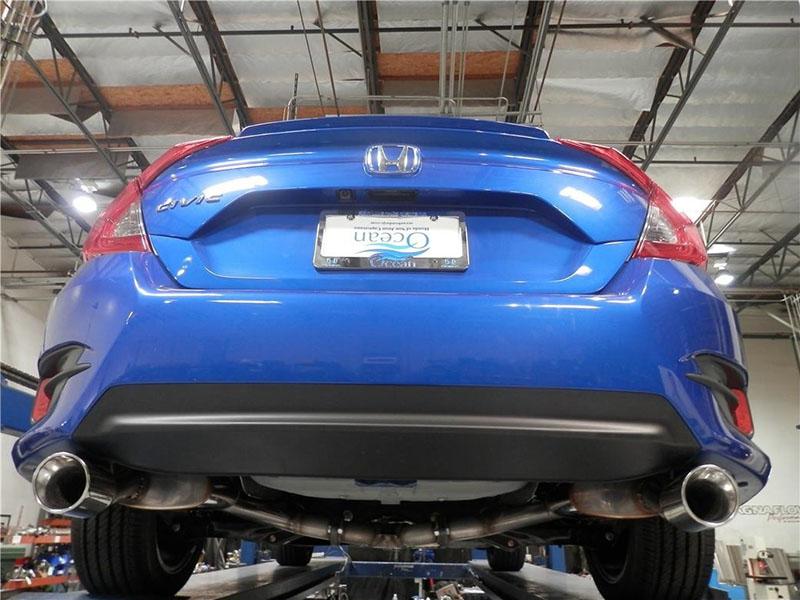 exhaust system 2016 honda civic