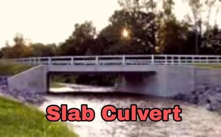 Slab Culvert, different types of culvert