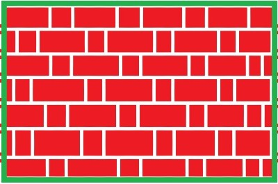 Difference between Flemish bond and English bond