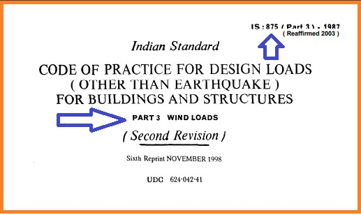 IS 875 part 3- Download.PDF file For Buildings AND Structures
